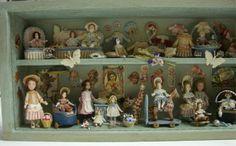 Miniaturas de Almudena González. Colección particular del pineador