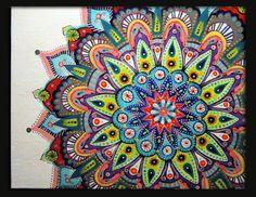 ORIGINAL PAINTING Betsy Mandala by tuffjulz on Etsy