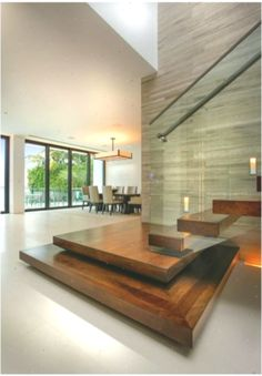 Modern interior staircase – how to choose the right handrails … Home Stairs Design, Interior Staircase, Modern House Design, Home Interior Design, Staircase Design Modern, Interior Modern, Stair Design, Modern Interiors, Home Design
