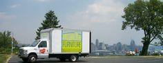 Truck with Cincy Skyline New Life, Truck, Skyline, Furniture, Trucks, Track, Home Furnishings, Arredamento