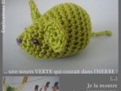 tuto souris verte crochet • Hellocoton.fr