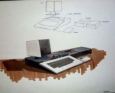 Des concepts arts dordinateur Atari concept art atari ordinateur 09
