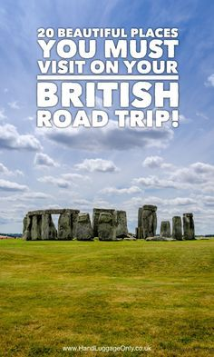 20 Essential Places You Must Include On Your British Road Trip - Hand Luggage Only - Travel, Food & Scotland Travel, Ireland Travel, Road Trip Uk, Uk Trip, Places To Travel, Places To Visit, Europe Places, Travel Destinations, Travel Advice