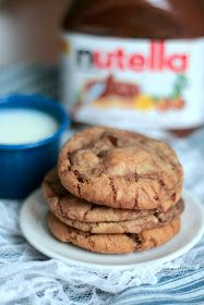 Nutella Chocolate Chip Cookies, Perfected. The best recipe you can find out there.