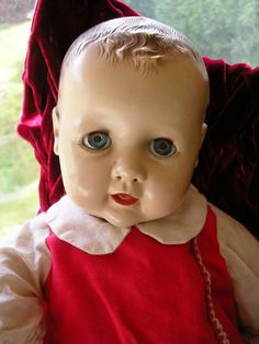 Vintage 1940 Baby Coos Doll by Ideal, 14""