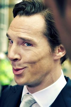 Benedict Cumberbatch, talking to the press at Buckingham Palace, after recieving the CBE honor from Queen Elizabeth II today, november 11th 2015.