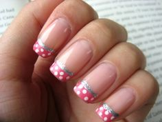 pink polka gonna need to do this one need a good pink