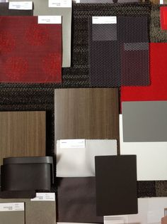 Materials House Color Schemes, House Colors, Sample Boards, Mood Board Interior, Drawing Interior, Material Board, Mood And Tone, Environmental Graphic Design, Concept Board