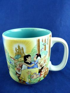 Walt Disney Snow White And The Seven Dwarfs Mug Evil Witch Prince  #Disney