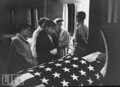 A funeral for a Civil War veteran who was the last member of the Grand Army of the Republic.  Photo: Grey Villet/Time & Life Pictures/Getty Images  Aug 01, 1956