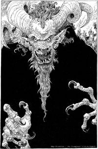 Gloamglozer - Edge Chronicles - by Chris Riddell