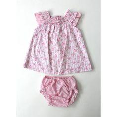 Ensemble robe et culotte rose
