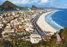 Rio de Janeiro Antigo: Leblon na década de 60 - fotos do Rio antigo