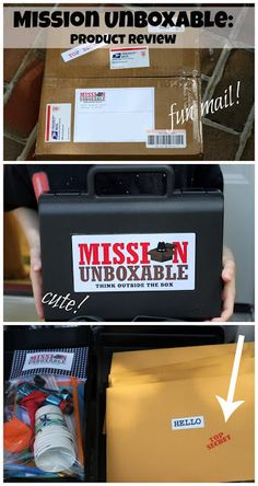 Check out this review of Mission Unboxable!  A great spy kit for a gift or for your child!  Created by a mom and son team.