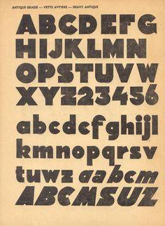 Alphabets Publicitaires