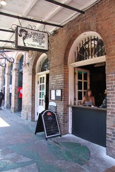 """Molly's at the Market """"Writers need watering holes where the drinks are not too expensive, but that are also full of humanity for material,"""" says Elizabeth Pearce, New Orleans drinking authority and author of The French Quarter Drinking Companion. She recommends Molly's at the Market with its mix of tourists and locals, and for its large windows, from which you can dream up plots for your fiction and non-fiction efforts."""