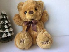 Bear, Sitting Bear, Stuffed Bear, Teddy Bear, Vintage Bear, My Teddy Bear