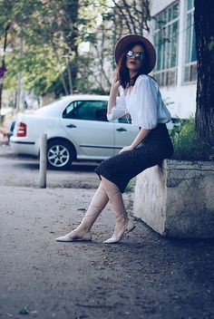 Get this look: http://lb.nu/look/8180929 More looks by Andreea Birsan: http://lb.nu/andreeabirsan Items in this look: Aldo Camel Hat, Christian Dior So Real Sunglasses, Lace Up Blouse, Zara Printed Pencil Skirt, Mango Beige Lace Up Flats #casual #chic #street #andreeabirsan #couturezilla #spring #springlook #springoutfit #springootd