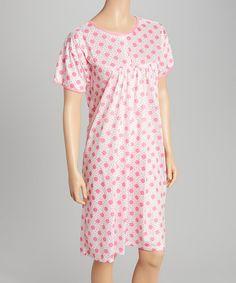 Pink Dot Nightgown - Women #zulily #zulilyfinds