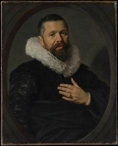 Frans Hals (Dutch, 1582/83–1666). Portrait of a Bearded Man with a Ruff, 1625. The Metropolitan Museum of Art, New York. The Jules Bache Collection, 1949 (49.7.34) #mustache #movember