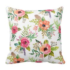 Bohemain Floral Cushion  http://weloveproducts.co.uk/?p=291