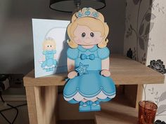 Little Princess dressed in blue on the shelf card and envelope design no 2 Etsy Crafts, Handmade Crafts, Handmade Envelopes, Envelope Design, Rustic Shelves, Vintage Country, Card Kit, Little Princess, New Baby Products