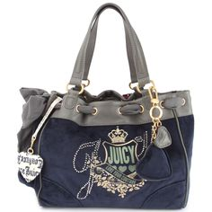 Couture Daydreamer Handbag-Blue - Designer Handbag Juicy Couture Purse 257e42b75415b