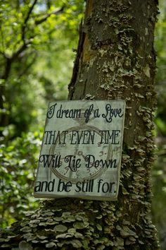 I dream of a love, that even time will lie down and be still for. -Sally Owens, Practical Magic. Another favorite quote from the popular