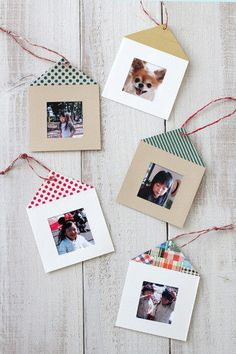 How To Make Your Own Beading Patterns Cute Crafts, Crafts To Make, Easy Crafts, Crafts For Kids, Handmade Christmas Crafts, Christmas Sewing, Christmas Cards, Diy Photo Frame Cardboard, Diy Paper