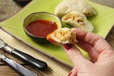 Banh bao: de délicieuses petites bouchées vietnamiennes à la viande. La version originale se réalise avec du filet de porc, ma version est au poulet! Ingré