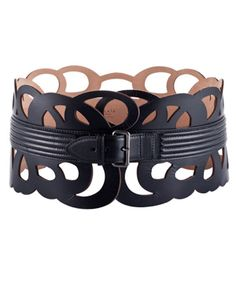 ALAÏA •Looped belt