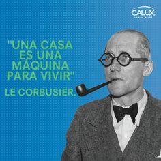 Charles Édouard Jeanneret-Gris, más conocido, a partir de la década de 1920, como Le Corbusier, fue un arquitecto y teórico de la arquitectura, ingeniero, diseñador y pintor suizo nacionalizado francés.  Es considerado uno de los más claros exponentes de la arquitectura moderna.