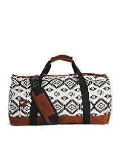 Mi-Pac | Mi-Pac Aztec Print Duffle Bag at ASOS