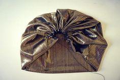 Turban Headband Tutorial, Turban Headbands, Fancy Hats, Turban Style, Fabric Jewelry, Craft Fairs, Refashion, Hand Fan, Fascinator