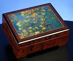 "The San Francisco Music Box Company Van Gogh Almond Blossom 1890"" Musical Jewelry Box"