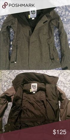 Burton WB Jet Set Jacket Used only once. I wear small size and this is Medium.  Great jacket, I would keep it if it was my right size.  Better description here: https://www.planet-sports.com/en/burton-wb-jet-set-jacket-snowboard-jacket-women-grey-pid-19042102/ Burton Jackets & Coats