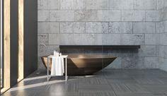 Vasca Da Bagno Moderna Da Incasso : Vasca da bagno quadrata: 20 modelli da appoggio e da incasso bagni