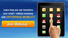 Check how organizations can transform their Business with Enterprise Mobility.    KloudData's experts will discuss the potential opportunity in Enterprise Mobility and unveil effective mobility solutions on February 12, 2013, 11:00 AM PST.