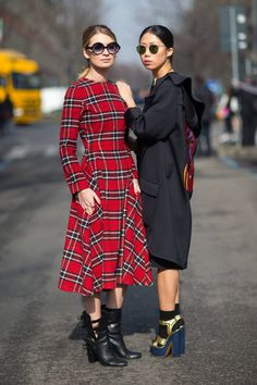 Check out the latest looks from Milan Fashion Week Day 4 - street style right here.