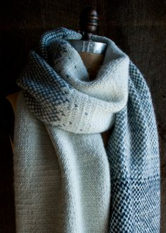 Laura's Loop: Arctic Wrap - The Purl Bee - Knitting Crochet Sewing Embroidery Crafts Patterns and Ideas!