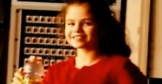 Here's a photo of Selena Gomez when she was young.