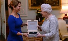 November 28, 2014: Queen Elizabeth has been honored for many things, but her most recent might be her most personal — her love of horses. The beloved monarch, 88, was presented on Wednesday with the International Equestrian Federation (FEI) Lifetime Achievement award, the first of its kind, for her dedication to the sport. She got her first riding lesson at age 3, which means she has been riding horses for 85 of her 88 years.