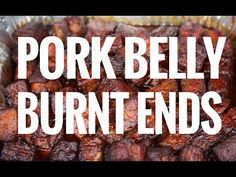 Recipe and video for Smoked Pork Belly Burnt Ends. Inspired by beef burnt ends, this pork version is super tender, full of flavor and so easy to make. Traeger Recipes, Smoked Meat Recipes, Grilling Recipes, Smoked Pork Belly Recipe, Pork Belly Recipes, Pork Belly Burnt Ends, Green Egg Recipes, Pellet Grill Recipes, Fire Cooking