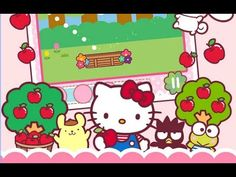 Hello Kitty Orchard Android İos  Free Game GAMEPLAY VİDEO