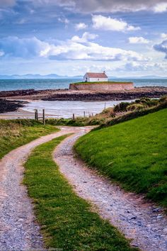 Church on the Island, Anglesey, Wales