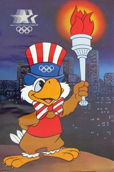 Sam the Olympic Eagle is the first thing that pops into your head, when anyone mentions the 1984 Summer Olympics. | 50 Things Only '80s Kids Can Understand