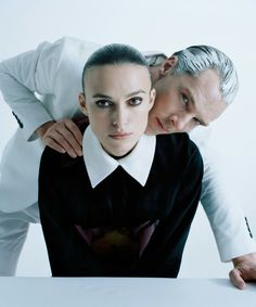 Benedict Cumberbatch & Keira Knightley photographed by Tim Walker for W Magazine February 2015