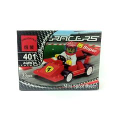 [Toys] Compatible Toy Miniature Block Figure Collection Worker Series Ferrari