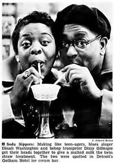 Dizzy Gillespie and Dinah Washington