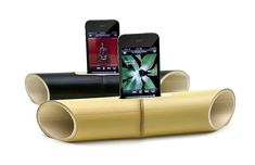 iBamboo Speaker is an electricity free speaker, make entirely of one piece of bamboo.  It looks pretty cool, too!